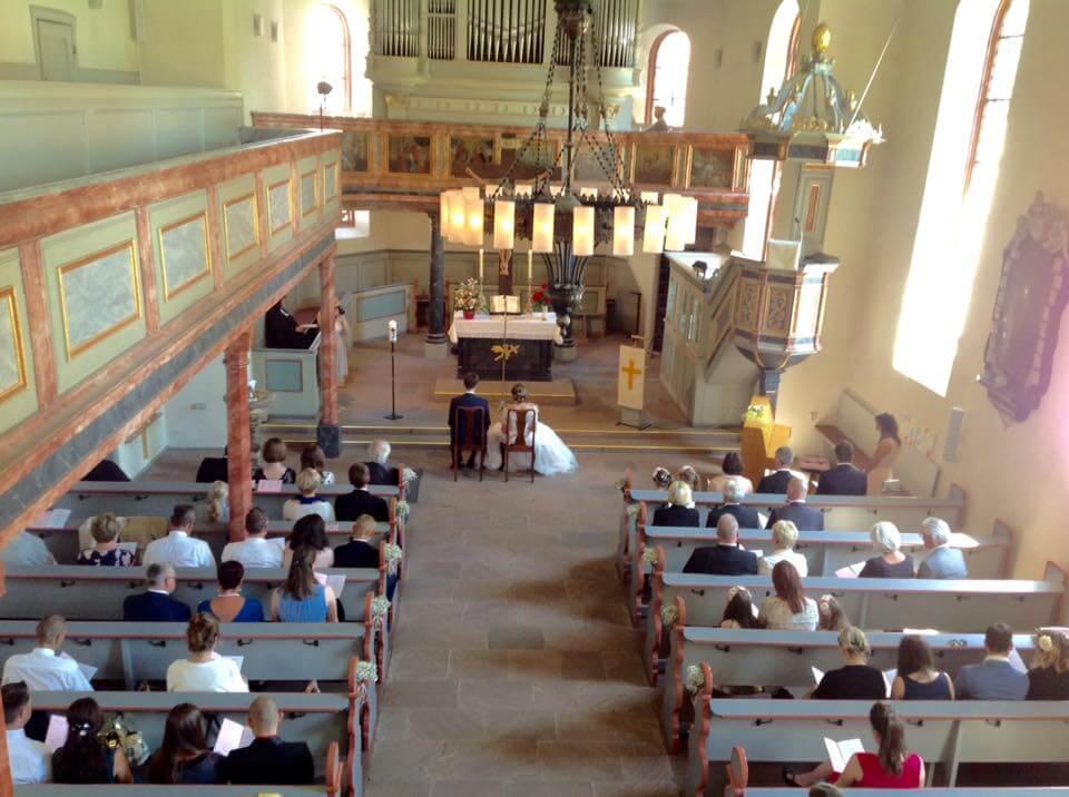 Kleiner Saal als Hochzeitslocation