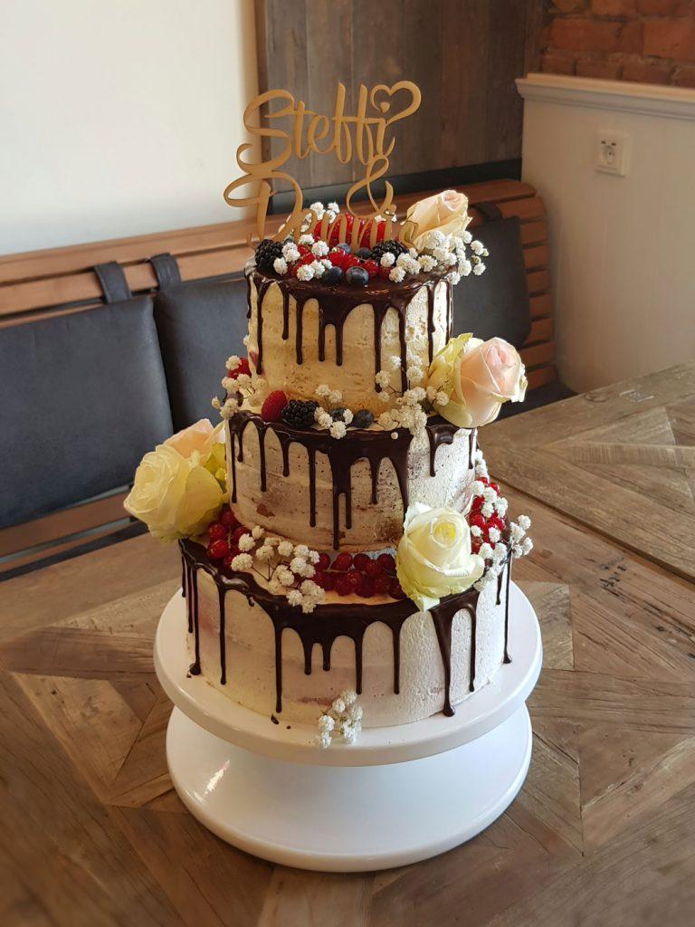 Cake Topper mit Namen & Symbolen