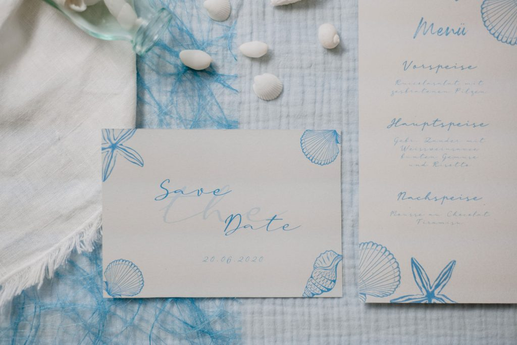 Save-the-Date Karte Papeterie